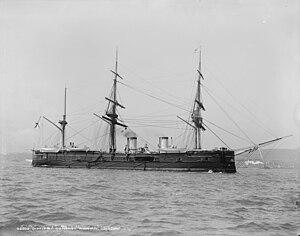 Russian cruiser Dmitrii Donskoi - Image: Dmitriy Donskoy 1893New York