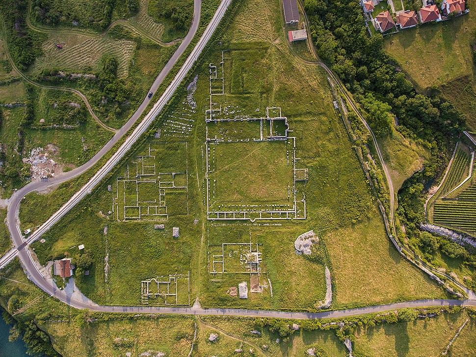 Doclea Roman city Podgorica