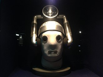 The Tenth Planet - A 2014 reproduction of a Mondas Cyberman (on display at the Doctor Who Experience)
