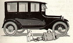 Dodge Brothers 4-Door Sedan, from a 1920 magazine advertisement.