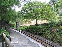 Dolgoch station platform - geograph.org.uk - 1317353.jpg