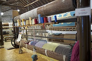 Donegal Carpets - The last carpet factory is really a museum used only by volunteers