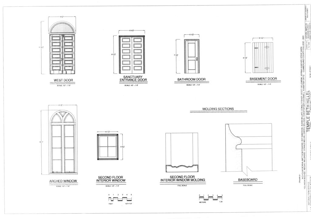 File Door And Window Details Temple Beth Hillel 547