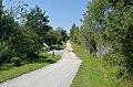 Drauradweg vor Rottensteiner Draubrücke, St. Margareten.jpg