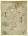 Drawing, Man Wearing Zouave's Cap, probably 1862 (CH 18173701).jpg
