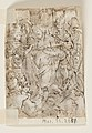 Drawing, Page of a sketchbook; Zeuxis painting Helen; Ecce Homo, ca. 1590 (CH 18117851-2).jpg