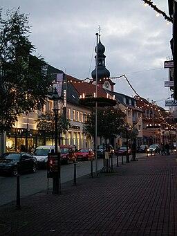 Dreikönigstraße in Schwetzingen