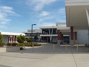 Dublin High School (California) - Dublin High School entrance