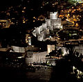 Dubrovnik Old Town Fortifications Night (4065179534).jpg