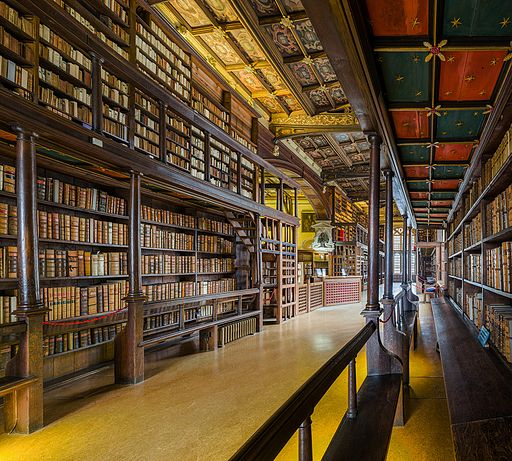 Duke Humfrey's Library Interior 3, Bodleian Library, Oxford, UK - Diliff
