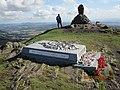 Dumyat - Memorial and Beacon Brazier.jpg