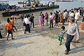 Durga Idol Immersion Gathering - Baja Kadamtala Ghat - Kolkata 2012-10-24 1577.JPG
