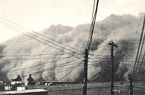 Haboob - Image: Dust Storm In Spearman Texas 19350414