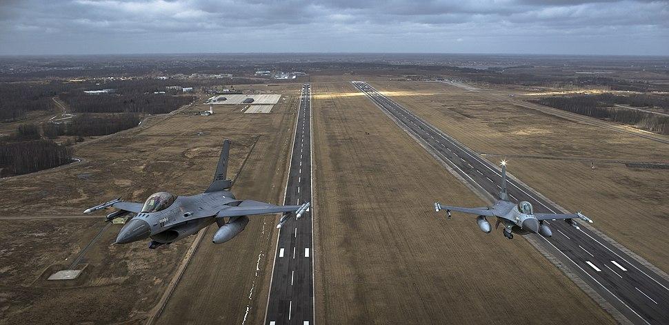 Dutch F16 Siauliai