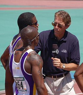 Dwight Stones American athletics competitor, high jumper, track and field commentator