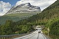 E8 road towards north in Balsfjord, Troms, Norway, 2014 July.jpg
