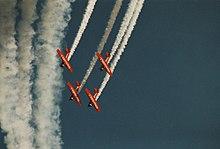 Kunstflugvorführung bei der eaa airventure