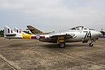 EGSX - De Havilland DH-115 Vampire T11 - WZ507 (29061128197).jpg