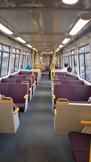 Electric multiple unit (Queensland Rail) - Image: EM Uinterior Roma