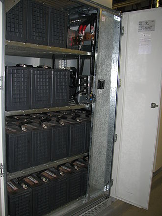 Uninterruptible power supply - Battery cabinet