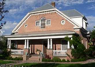 Eagar Townsite Historic District - William La Sueur house, at 287 N. Main Street