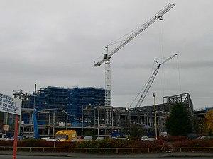 Eagles Meadow - Eagles Meadow under construction