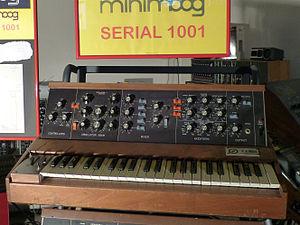 Minimoog - Image: Eboardmuseum 3b