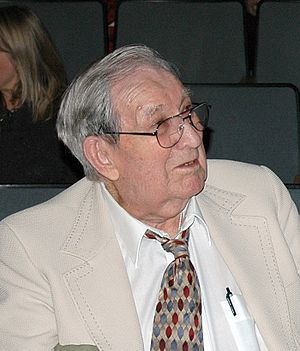 Ed Walker (American veteran) - Ed Walker, the second-to-last surviving member of Castner's Cutthroats, in 2008.