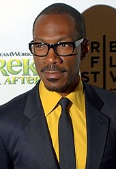 A headshot of Eddie Murphy