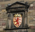 Edinburgh Castle, Portcullis Gate coat of arms.jpg