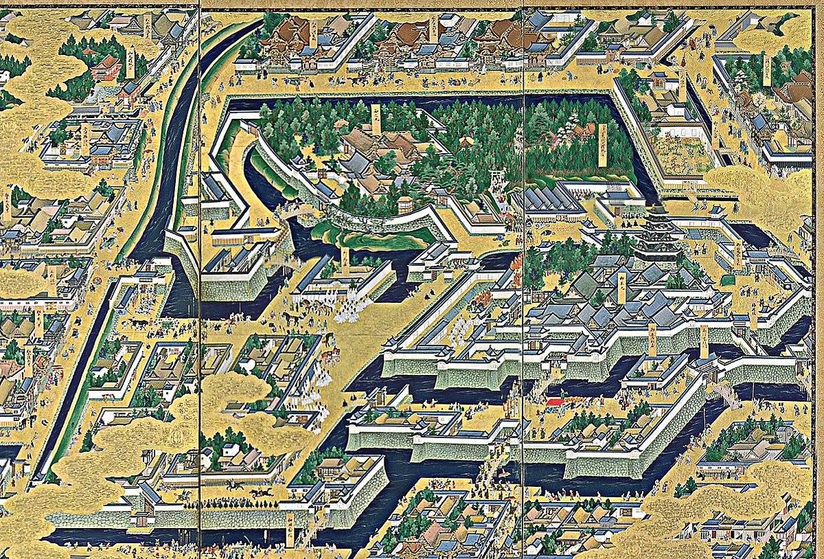军事堡垒_江户城 - 维基百科