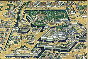 Edo Castle - Image: Edo P detail