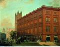 Eduard Gaertner Die Bauakademie 1868 Öl auf Leinwand 63x82 cm.tif