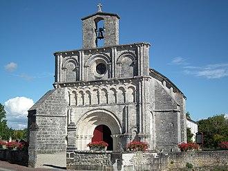 Breuillet, Charente-Maritime - Image: Eglise de Breuillet