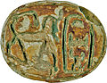 Egyptian - Scarab with the Throne Name of Thutmosis III (1479-1425 BC) - Walters 4277 - Bottom.jpg