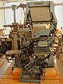 Ehem Eisenberger Fabrik - Setzmaschine Linotype II.jpg