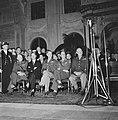 Eisenhower in Amsterdam. Burgerzaal van het Paleis op de Dam. Toespraak van waar, Bestanddeelnr 900-8893.jpg