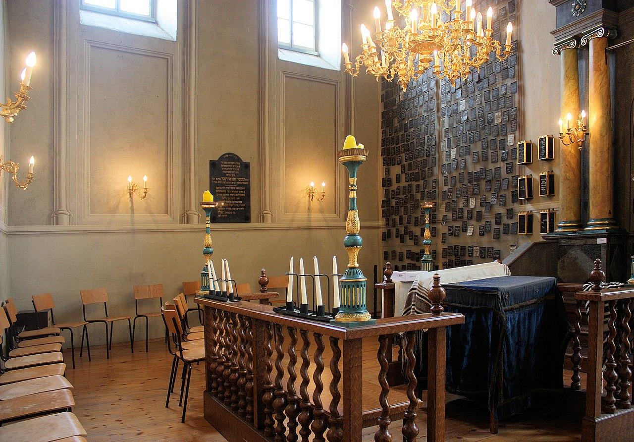 Eisenstadt, das Österreichisches Jüdisches Museum, Innenansicht.jpg