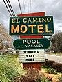 El Camino Motel Sign, Cherokee, NC (32767214008).jpg