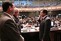 El presidente de la Asamblea Nacional, Fernando Cordero Cueva, posesionó a Ernesto Sócrates Willimper Pazmiño Granizo, como Defensor Público (7159716848).jpg