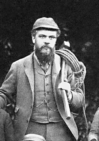 Victor Bruce, 9th Earl of Elgin - The Earl of Elgin at his private estate in Scotland, 1889.