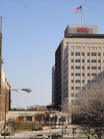 Based in Indianapolis, Eli Lilly and Company is the city's largest employer.