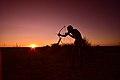 Elia Fester, Kalahari Khomani San Bushman, Boesmansrus camp, Northern Cape, South Africa (20352525188).jpg