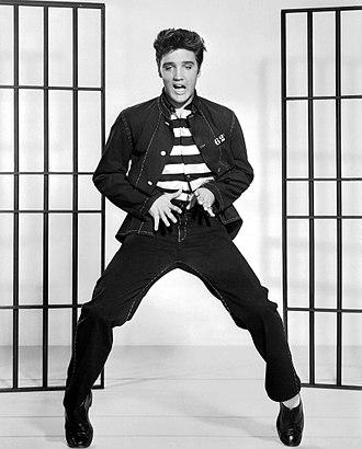 Jailhouse Rock (film) - Image: Elvis Presley Jailhouse Rock 2