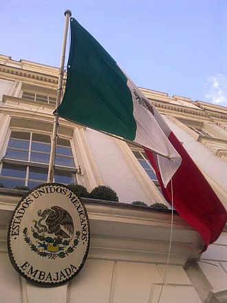 Embassy of Mexico, London - Image: Embassy of Mexico in London 3