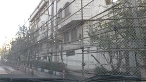 Iran–Saudi Arabia proxy conflict - Embassy of Saudi Arabia in Tehran under Iranian police protection after the Mina stampede crisis