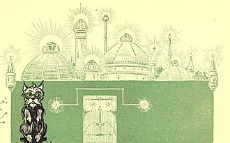 Emerald City - Illustration by W. W. Denslow