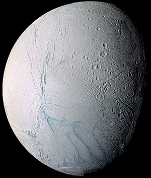 Saturn's moons in fiction - Enceladus