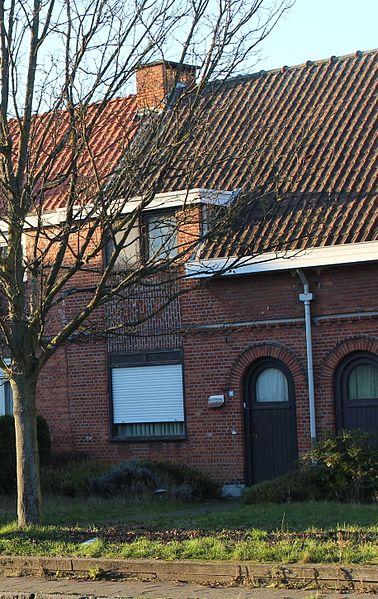 """Arbeiderswoningen """"Engels Kamp"""", Beveren, Gentseweg 96"""