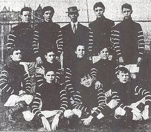 Englewood, Chicago - Soccer team 1908